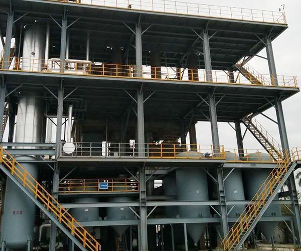 连续化废矿物质油蒸馏升级装置