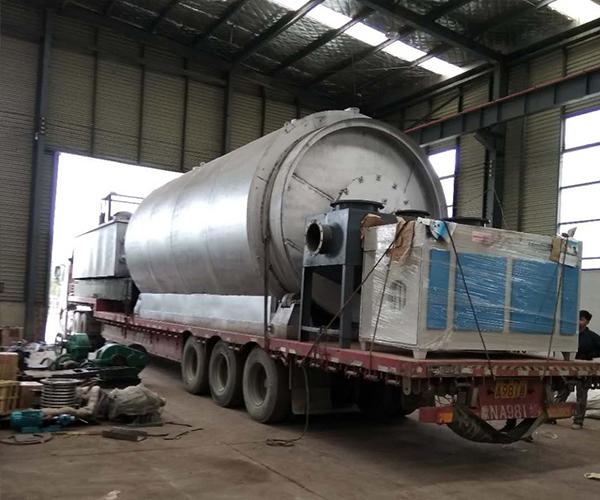 山西榆林客户医疗废物处理装置发货